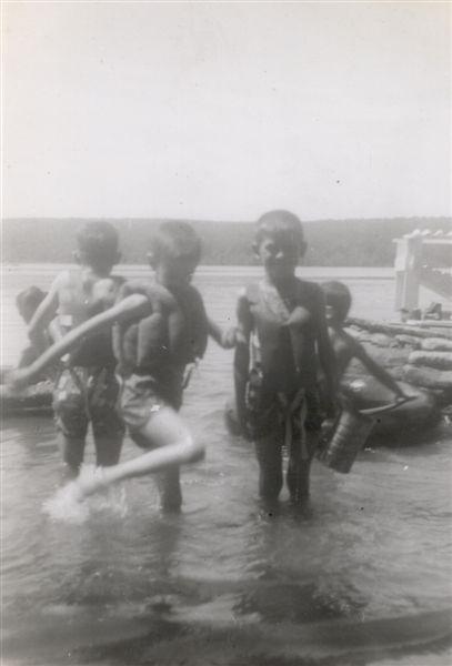 Boys Swimming 1956